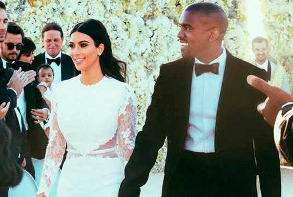 Happy 5th Anniversary, Kim Kardashian & Kanye West! Relive the Couple's Fairy Tale Wedding Day