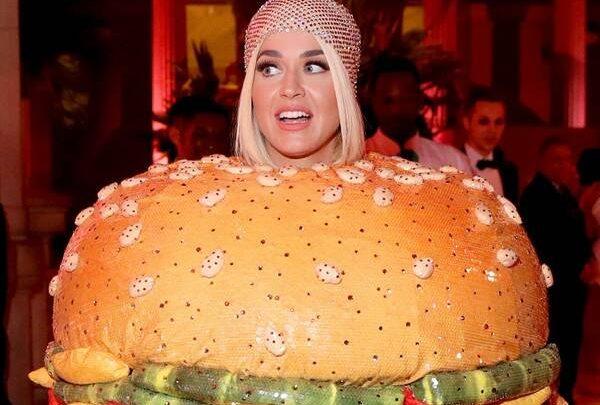 Katy Perry's Second 2019 Met Gala Look Is a… Hamburger