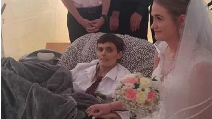 Army vet Tristin Laue marries girlfriend just hours before dying from cancer