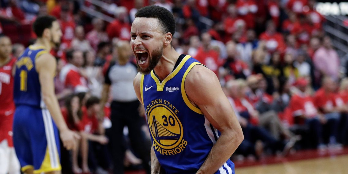 Steph Curry astounded the NBA world by scoring 33 points in 22 minutes to help the Warriors pull off a devastating, series-ending win over the Rockets