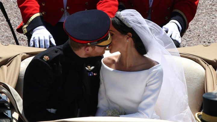 Prince Harry, Meghan Markle release unseen royal wedding photos for anniversary