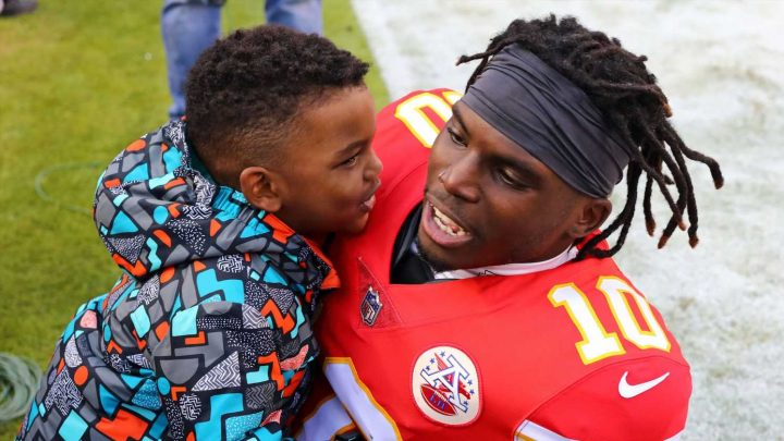 Chiefs' Tyreek Hill 'categorically denies' injuring son in letter to NFL, per reports