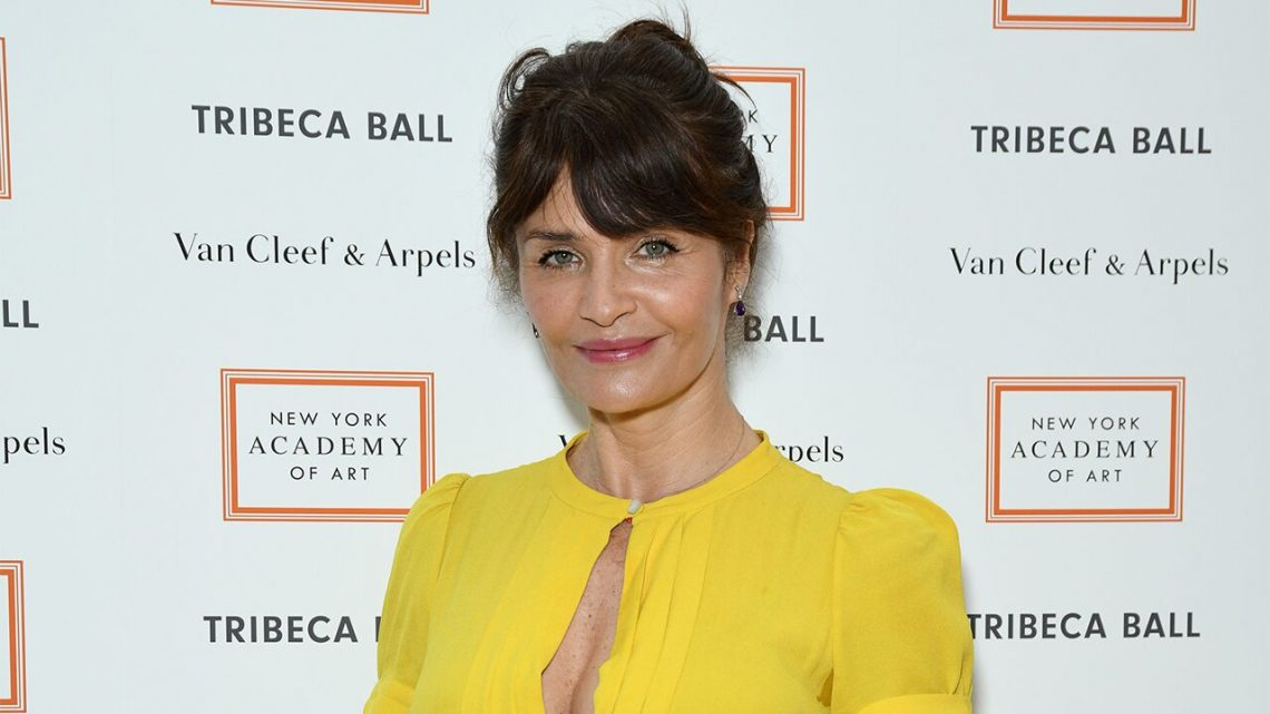 super popular 2ce5a 3f65e Helena Christensen, 50, responds to fashion editor who said ...