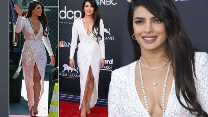 Priyanka Chopra dazzles in plunging sequinned dress at Billboard Music Awards 2019