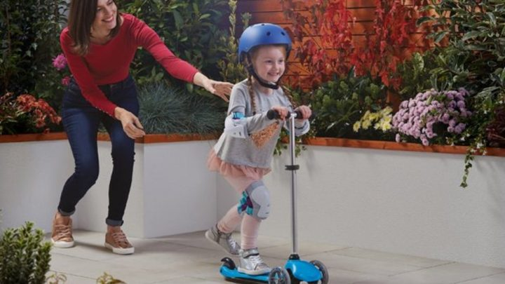 Tesco is selling kids' micro scooters for a bargain price
