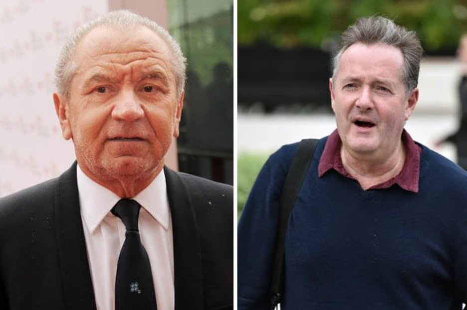 023fd13522 Alan Sugar ridicules Piers Morgan over BAFTA loss: 'By the way I have two