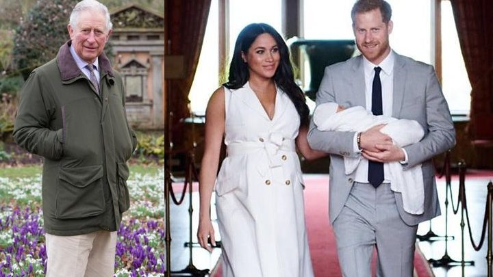 Prince Charles Meets Meghan Markle and Prince Harry's Baby Archie for First Time After Germany Visit
