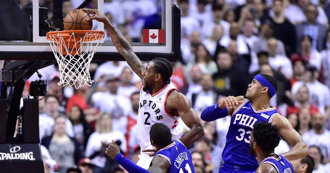 Kawhi Leonard and the Raptors Have 76ers on the Brink