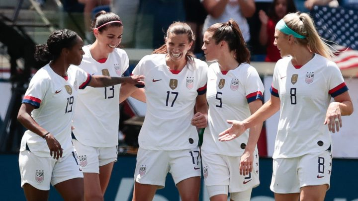 U.S. Women's Team Collects One Last Win on Road to the World Cup