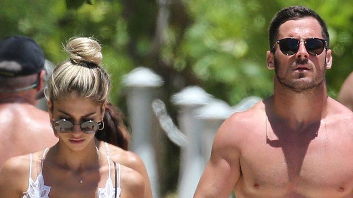 Danny Amendola Hits Beach With New Woman as Olivia Culpo Parties With Zedd