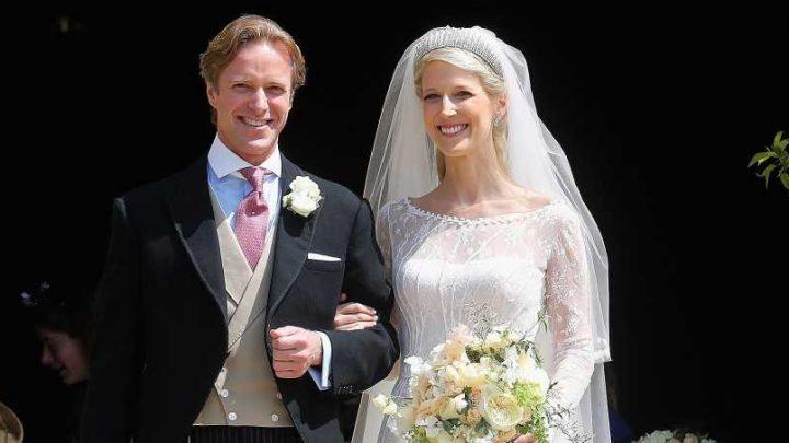 All About Lady Gabriella Windsor's Bespoke Royal Wedding Dress