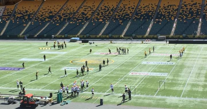 Edmonton Eskimos Training Camp: Foes become teammates on day 1