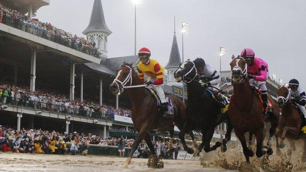 Kentucky Derby: Maximum Security's owner issues $20m challenge to rivals