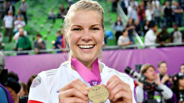 Ada Hegerberg: 'When we all stand together on equality'