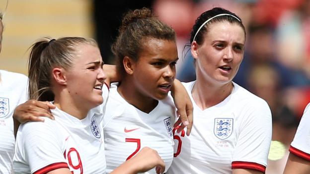England women 2-0 Denmark women: Nikita Parris & Jill Scott give Lionesses friendly win