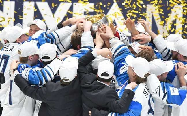 Finland defeats Canada for gold at hockey worlds