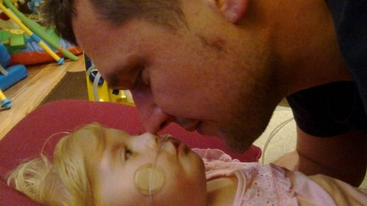 Dad whose daughter died aged 16 months reveals how he copes on Father's Day