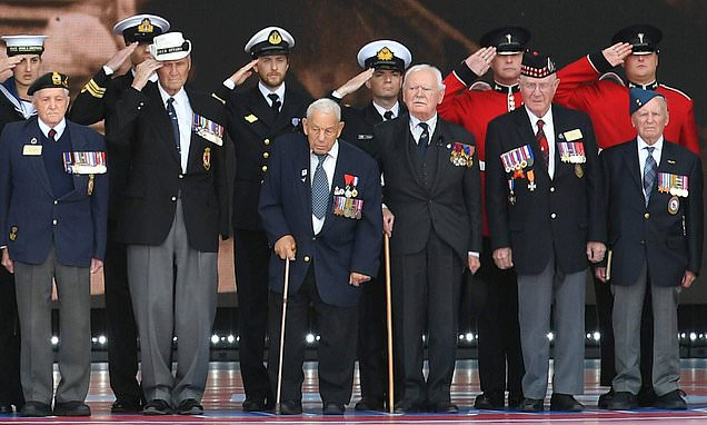 300 D-Day veterans gather in Portsmouth 75 years later