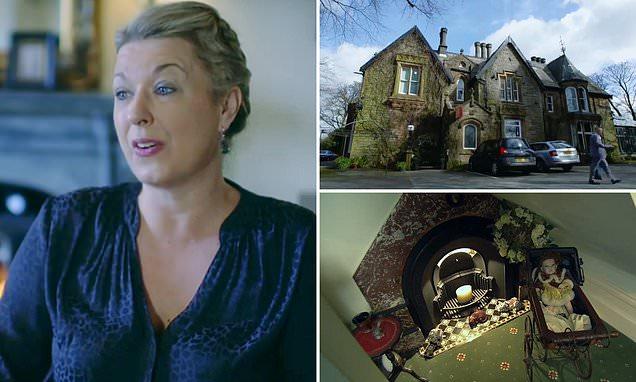 Daughter desperate to keep 'creepy' decor in sick mum's failing hotel