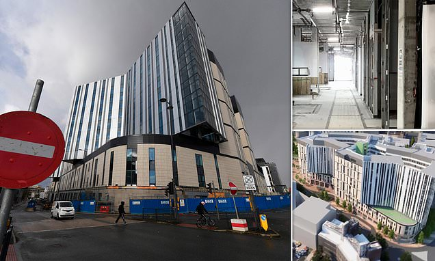 Hospital needs £100m repair bill after botched Carillion work