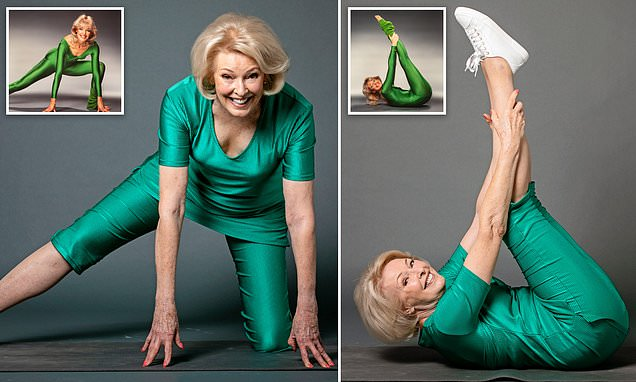 Diana Moran recreates her signature TV workouts