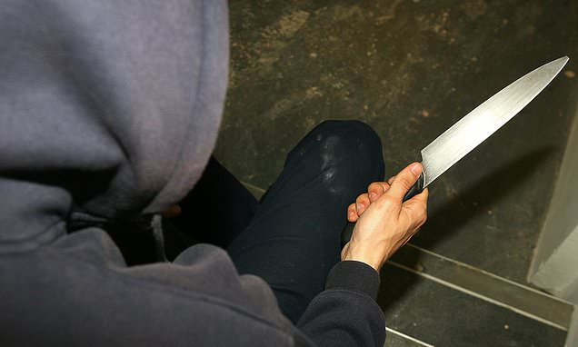 Knife crime epidemic worsens as offences hit a nine-year high