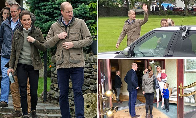Kate and Wills' £23 afternoon tea for two at a Cumbrian hotel