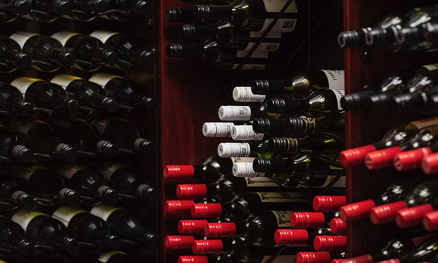 Middle-class couples squabble over their WINE cellar during divorce