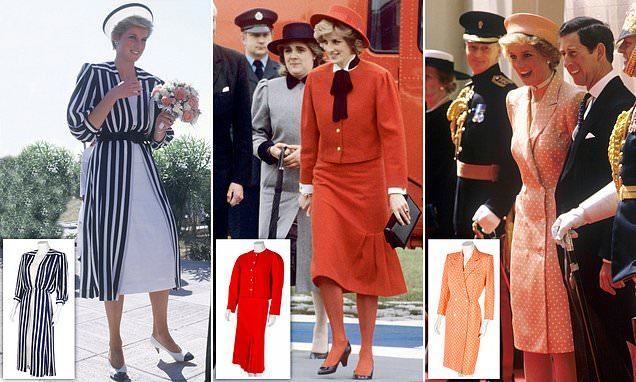 Dress Diana wore on Gulf states visit sold with two more for £260,000