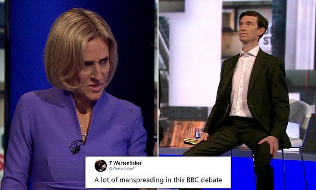 'Maitlis has lost control!': BBC viewers slam Tory leadership debate