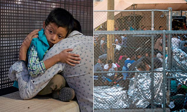 Migrants held in the Rio Valley face 'dangerous' cells, report says