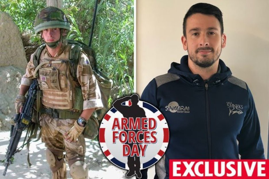 Veteran left in 'dark place' after Afghanistan death discusses how he took back control