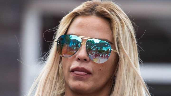 Katie Price's car 'repossessed by bailiffs after she failed to pay £2.50 fine'