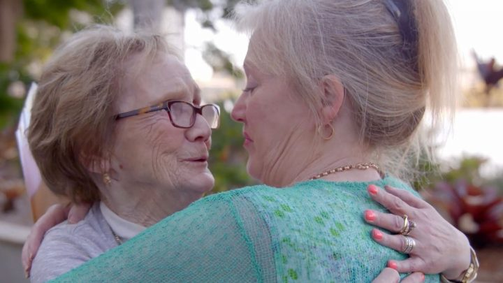 Heartwarming moment mum is reunited with baby she gave away 62 years ago