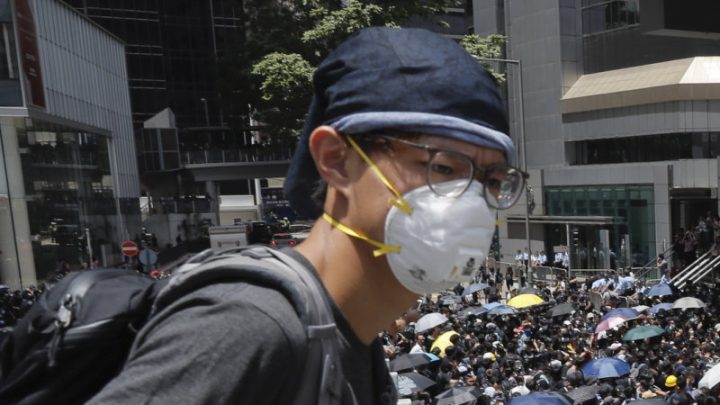 Fresh protests in Hong Kong as angry students demand an investigation