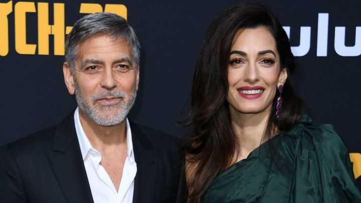 George and Amal Clooney Step Out For a Romantic Dinner Date in Italy