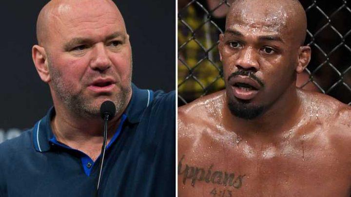 UFC president Dana White wants Jon Jones' on ever loss overturned ahead of Thiago Santos title defence