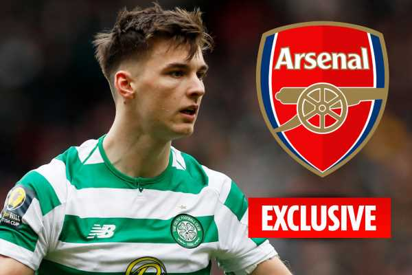 Arsenal willing to offer Celtic star Kieran Tierney £20m contract after having £15m transfer bid rejected