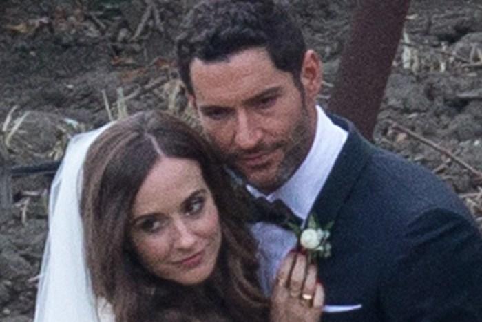 Tom Ellis seen marryin...