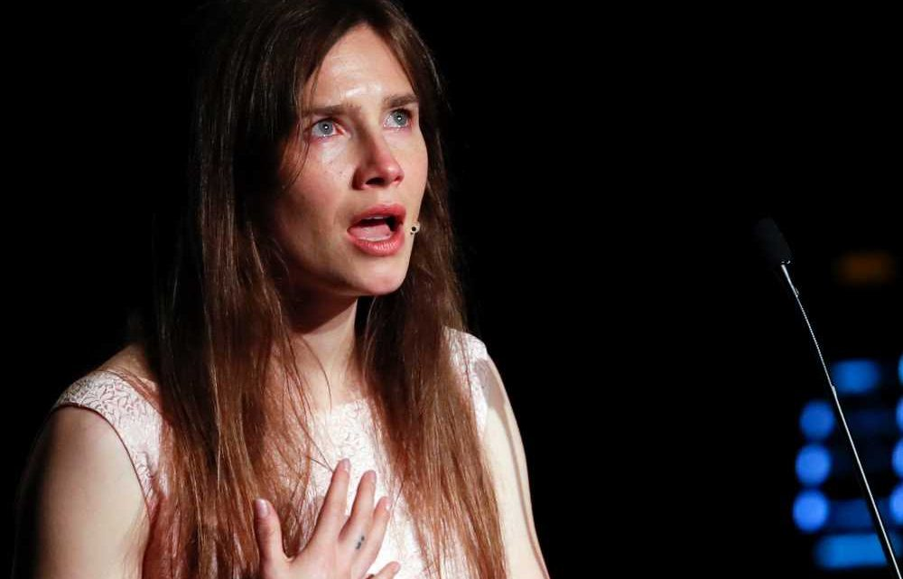 Media built false story around me, Amanda Knox tells