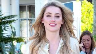 Amber Heard Wears Nothing Under Thin White Tank Top While Out In L.A. — See Sexy New Pics