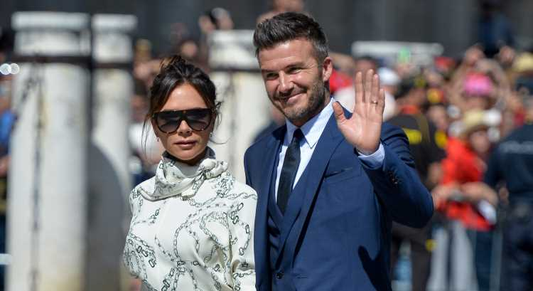 David & Victoria Beckham Couple Up For Friends' Wedding In