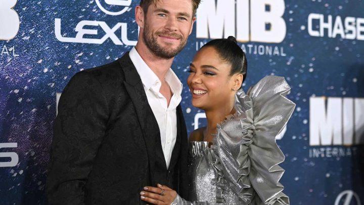 Chris Hemsworth Is 'Really Sensitive' Despite His Fame and 'Good Looks,' Says Tessa Thompson
