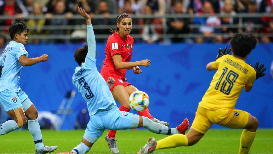 U.S. Women's Soccer Team Beats Thailand 13-0 in Record-Breaking First Match of the 2019 World Cup