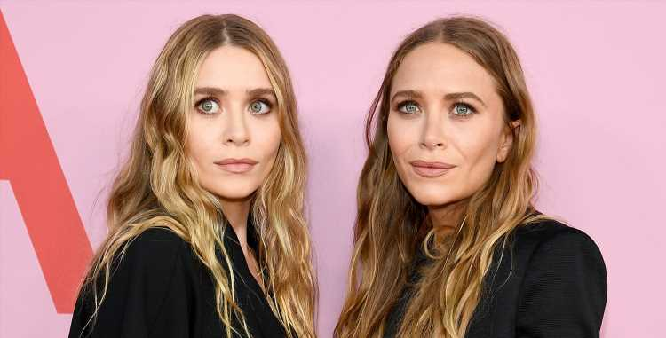 Mary-Kate & Ashley Olsen Twin in Matching Tiaras for 33rd Birthdays