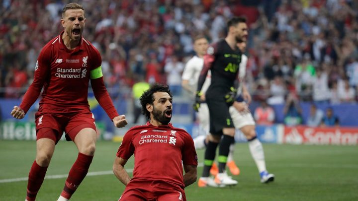 Liverpool beats Tottenham 2-0 to win UEFA Champions League title