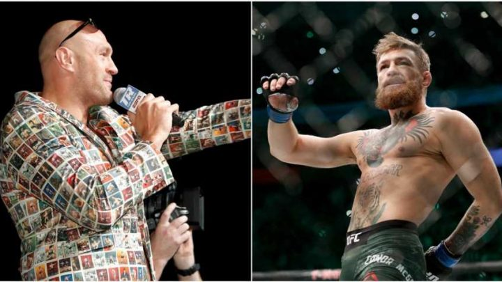 'Amazing' Tyson Fury and 'great guy' Conor McGregor have been gushing over each other on social media