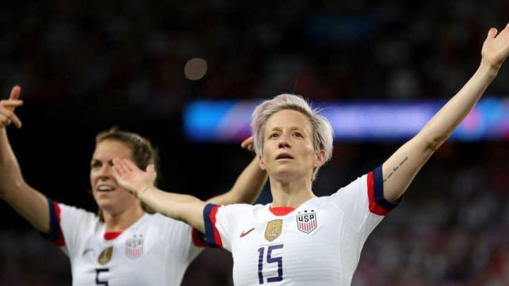 Megan Rapinoe scored 2 goals to put the Americans through to the World Cup semifinal and now everyone wants her to be president
