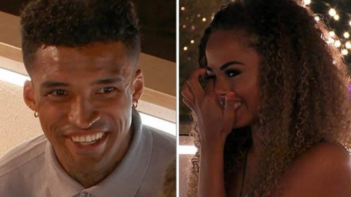Love Island's Michael leans in to kiss Amber but she brutally rejects him for odd reason