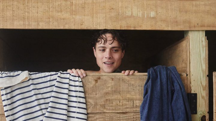 Douglas Smith, a Star of 'Big Little Lies,' Surfs in His Boxers